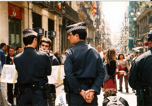 Democracia - April 2003 - Anti-Iraq war in Barcelona