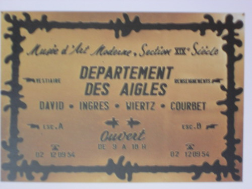 Broodthaers 'Departement des Aigles' 1968