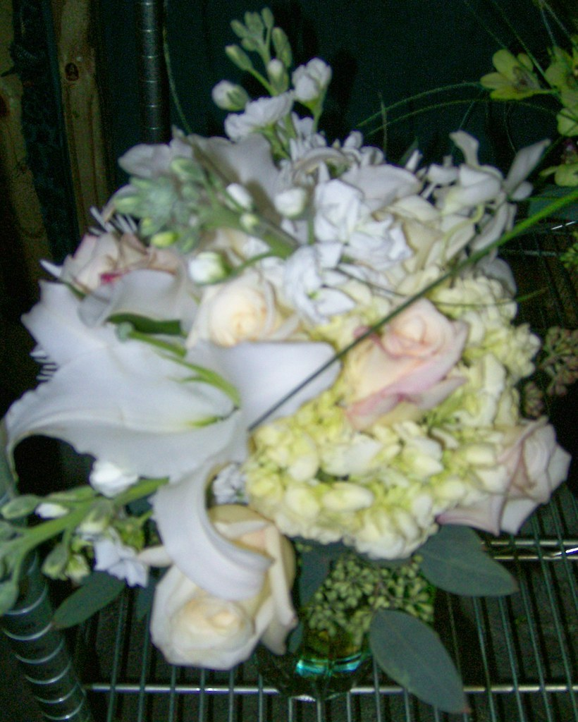 White and Cream Bridal Bouquet 2010