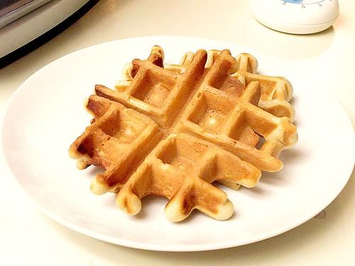 """""""C""""oconut waffle"""