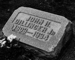 John Dillinger, Bank Robber. (pjern) Tags: john bank robber dillinger whydidtheladyinreddoit indyflickr20101023