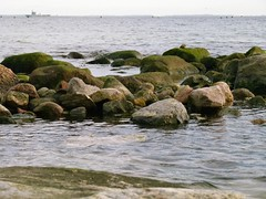 Tender Elbe in der Lbecker Bucht (TraveBounty) Tags: stone marine wasser herbst balticsea steine lbeck ostsee schleswigholstein bundeswehr lbeckerbucht sierksdorf versorger tenderelbe dmcfz100