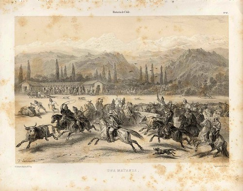 019-Una matanza-Atlas de la historia física y política de Chile-1854-Claudio Gay