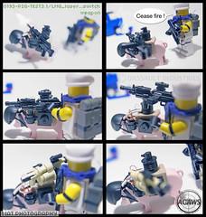 ACAWS PIG switching weapon (Shobrick) Tags: car animal soldier pig amazing lego system prototype weapon impact laser fi tt custom armory grenade we3 lmg sci firing launcher brickarms shobrick