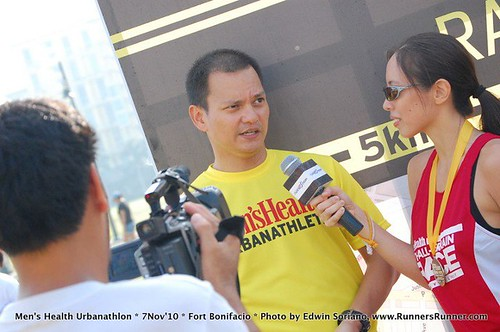 Men's Health Urbanathlon: Runnerspeak Duties