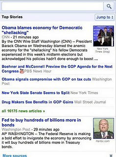 Google News Mobile Open