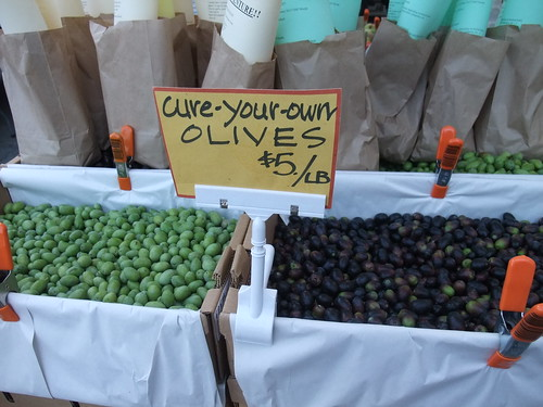 SFO Day 2: Olives at the Ferry Plaza Farmers Market