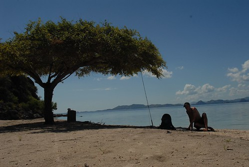 Little island, lots of sands and nothing else, Pulau Kanawa, Flores