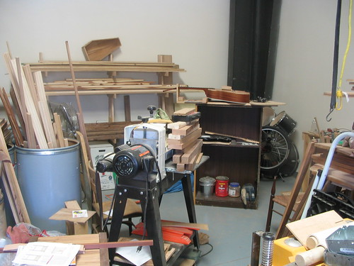 Luthier Shop Area