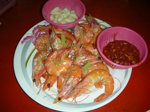 輝哥生魚片-燙蝦
