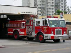 SDFD Truck (So Cal Metro) Tags: rescue fire sandiego firetruck fireengine firestation firedept bomberos sdfd kenworth pumper missionhills