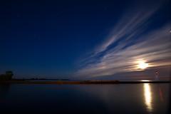 IMGP8383 (Bob West) Tags: longexposure nightphotography moon lighthouse ontario night lakeerie greatlakes fullmoon nightshots sigma1020mm erieau southwestontario bobwest eastlighthouseerieau