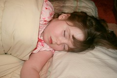 My Little Angel... (mama2em) Tags: pink sleeping girl horizontal kid peace child sweet asleep