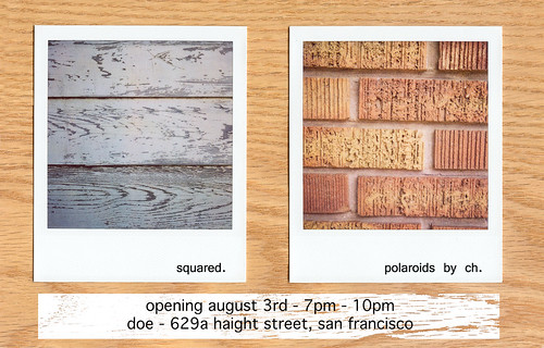 polaroid art show