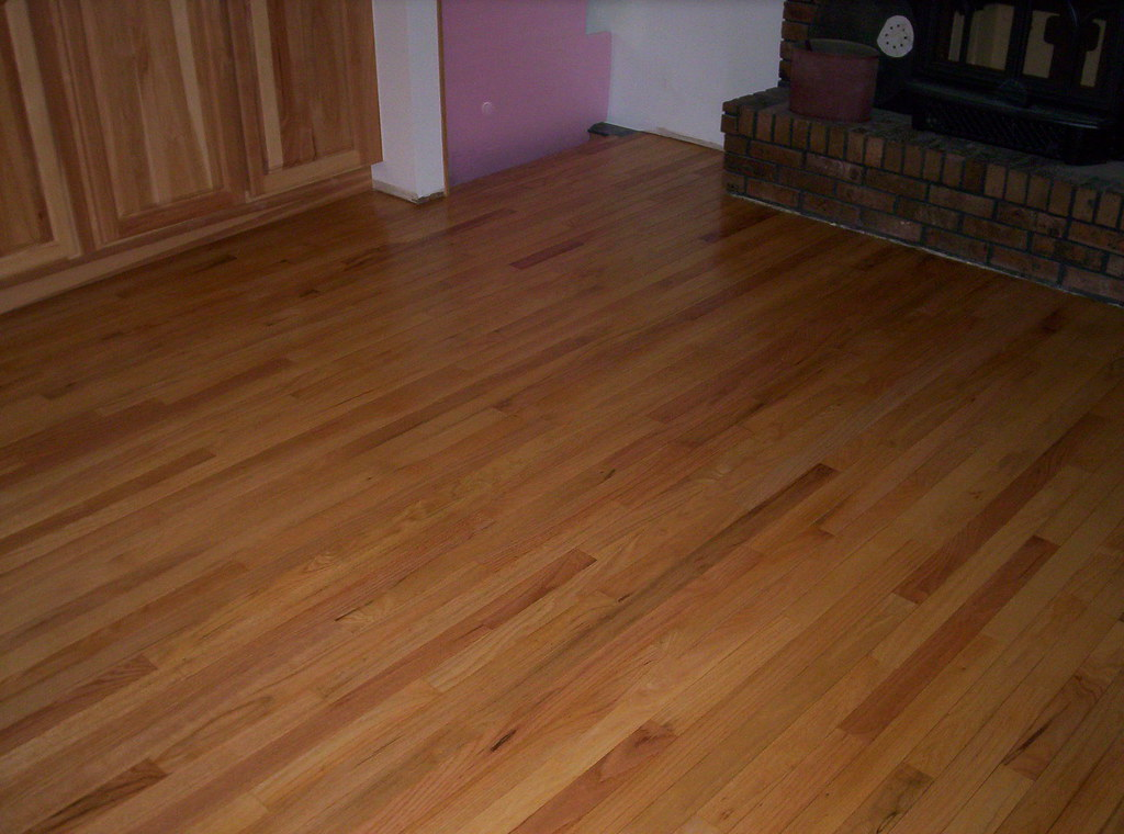 resanding prefinished floors