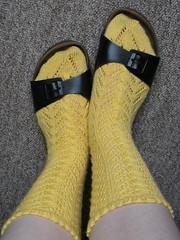 Socks in slides