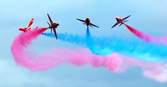 Red Arrows at Dawlish Festival