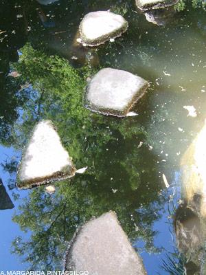 caminho de pedras