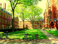 Harvard dorms near old Harvard Yard - Des dortois prs du old Harvard Yard - Unos dormitorios cerca de Harvard Square (eileansiar - l'arbre qui pleure) Tags: street cambridge red summer urban usa brick college students bike bicycle architecture america campus square ma us student university fuji candid massachusetts harvard colonial streetphotography streetscene historic american finepix harvardsquare s7000 mass harvarduniversity undergrad redbrick estadosunidos undergraduate 02138 estados johnharvard summerschool eeuu unidos etatsunis harvardcollege eileansiar