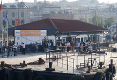 Bosporus Wharf (illustir) Tags: turkey boat trkiye istanbul boaz iskelesi