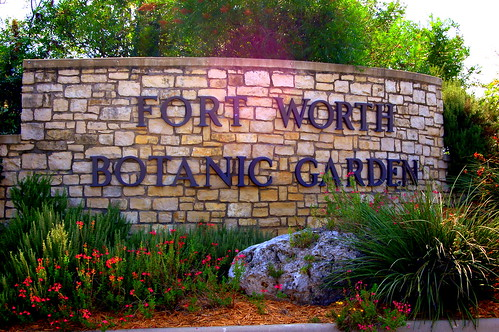 Fort Worth Botanic Garden- Representing our perfect world