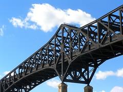Pulaski Skyway over Hackensack River, New Jersey (jag9889) Tags: bridge puente newjersey jerseycity crossing nj bridges meadowlands ponte pont brcke waterway 2007 kearny hackensackriver generalpulaskiskyway njdot y2007 jag9889 k042