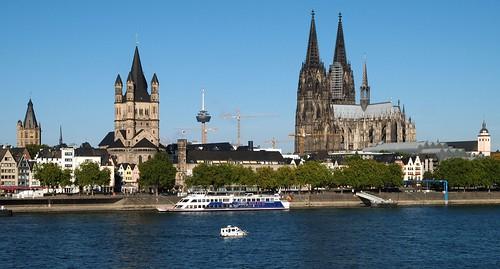 Kölner Skyline / Cologne skyline