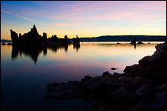 Monolithik #1 (realkuhl) Tags: california copyright water clouds sunrise john all  rights monolake reserved tufas landscapephotography eow lehmkuhl superaplus aplusphoto realkuhl megacolor johnlehmkuhlcopyright2007allrightsreserved