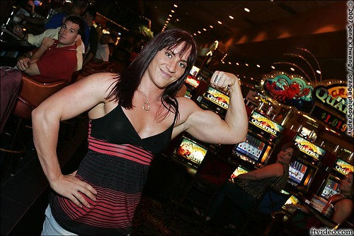 Caissie Liberatore In Las Vegas For Ms. Olympia