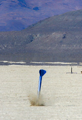 Moment of Impact (Erik Charlton) Tags: desert balls rocket rocketry highpower balls16