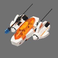 Mars Mission Duo-Patrol (pasukaru76) Tags: lego space aircraft moc sigma105mm marsmission