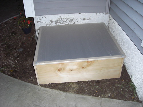 Cold Frame in its new home
