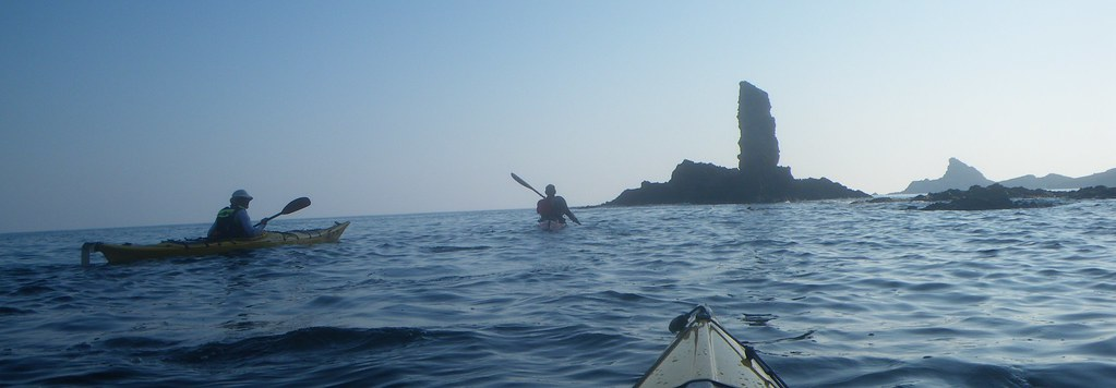 Cabo de Gata en kayak 496