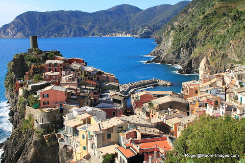 Bird's Eye View of Vernazza
