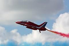 Red Arrows Hawk T1 at RIAT Fairford 2010 (Jeroen.B) Tags: redarrows fairford riat baehawk riat2010