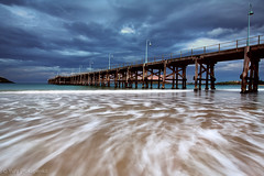 Coffs Harbour (-yury-) Tags: ocean sea seascape clouds pier jetty australia nsw coffsharbour