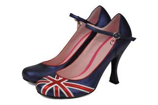 Lady Di shoes by Annabel Winship
