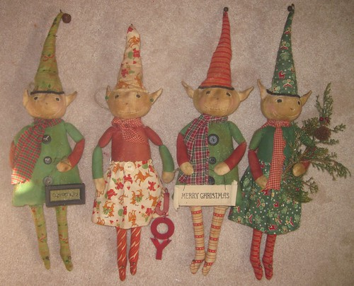The Elves Are Back! by stitchin.thyme