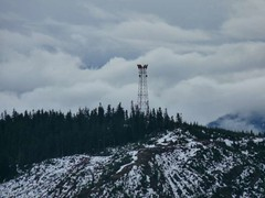 Microwave tower on Keechelus Ridge