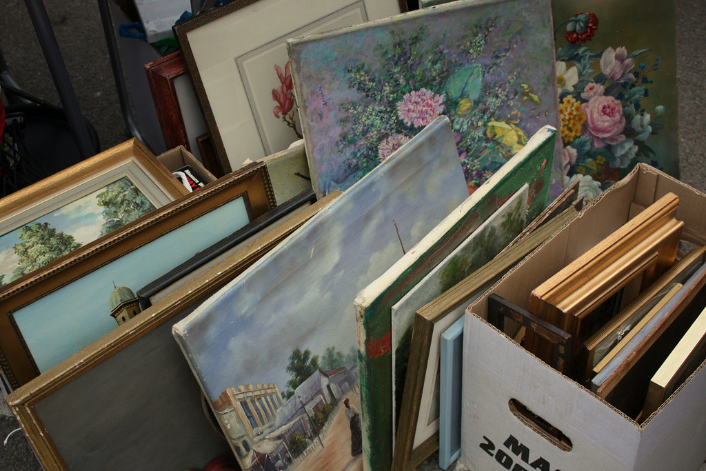 Paintings - Chiswick Carboot Sale