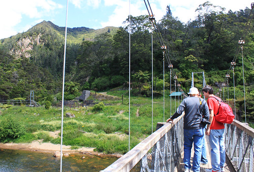 Hiking the Karangahake gorge, day four