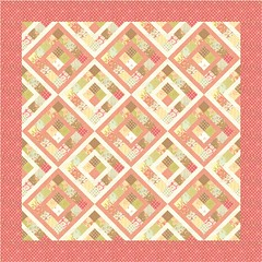 "My Block for 100 Blocks - ""Boxed In"" Layout #3 (Jaybird Quilts) Tags: magazine quilt moda fabric figtree julieherman quiltmaker boxedin jaybirdquilts freshcottons quiltmakers100blocksblogtour"