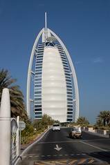 Burj Al-Arab - the only 7 Star hotel in the world.
