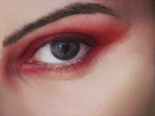 Lady vengeance eye make up color