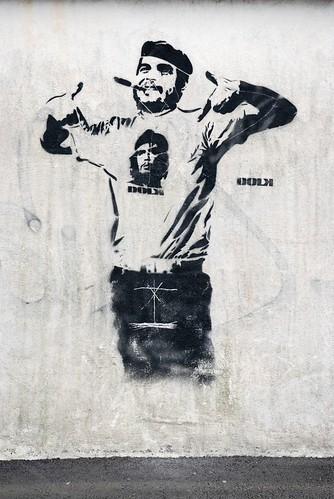 El Che Guevara por las calles del mundo (Grafitis)