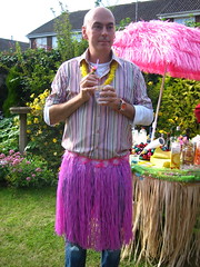 Hula Paul (adactio) Tags: party tiki grassskirt paulduncan upcoming:event=209767