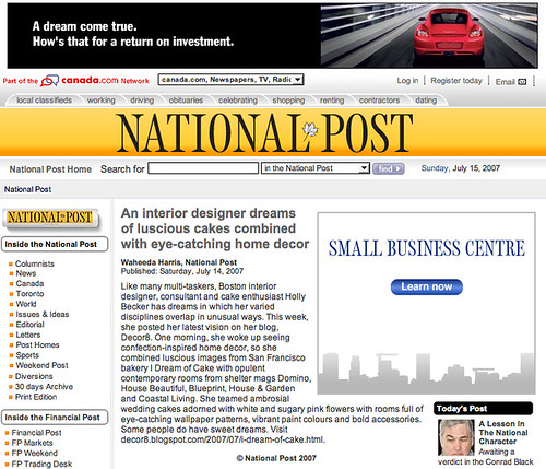 Canada's National Post