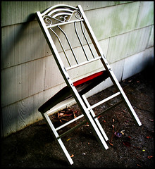 Chair Witch Project (archangel) Tags: shadow contrast lomo chair highcontrast eerie spooky uneasy leaning punishment punish fauxlomo lean dunce blairwitchproject disquieting litwin mikelitwin archangel