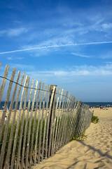 Beach Fence - by Matt Niemi