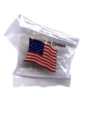 Bandera americana, pin para solapa (by Daquella manera)